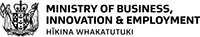 Ministry of Business logo